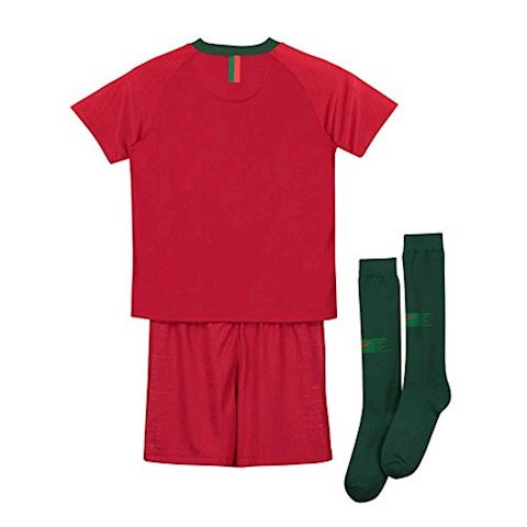 Nike Portugal Kids SS Home Mini Kit 2018 Image 2