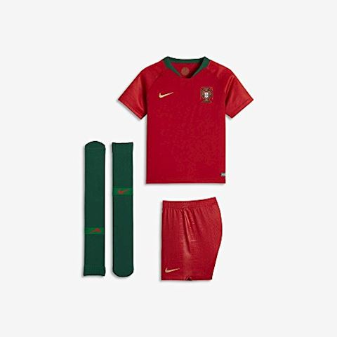 Nike Portugal Kids SS Home Mini Kit 2018 Image 5