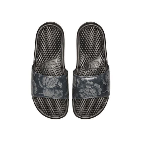size 40 24a2f 245ec Previous. Nike Benassi JDI Floral Women s Slide - Black Image