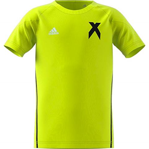 adidas Training T-Shirt X - Solar Yellow/Black Kids