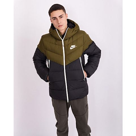 3485f6b8b Nike Sportswear Windrunner Down Fill Men's Hooded Jacket - Green