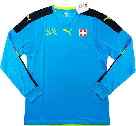 Puma Switzerland Mens LS Goalkeeper Home Shirt 2016 Image 2