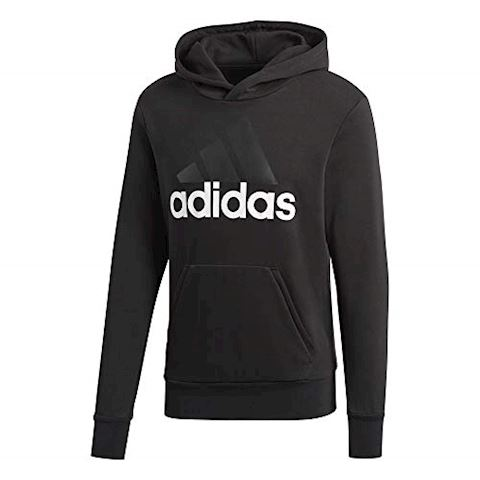 adidas Essentials Linear Pullover Hoodie Image 3