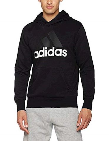 adidas Essentials Linear Pullover Hoodie Image 5