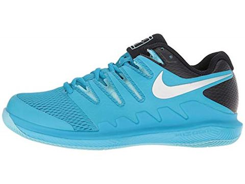 NikeCourt Air Zoom Vapor X HC Women's Tennis Shoe - Blue Image