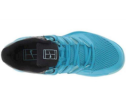 NikeCourt Air Zoom Vapor X HC Women's Tennis Shoe - Blue Image 3