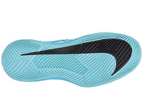 NikeCourt Air Zoom Vapor X HC Women's Tennis Shoe - Blue Image 5