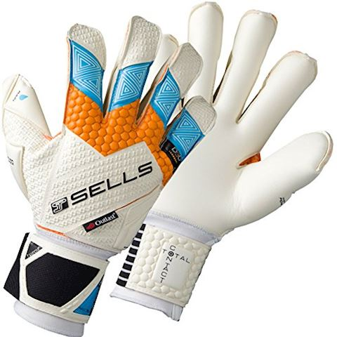 Sells Junior Total Contact Aqua Campione Competition White Orange Ice Grey Image