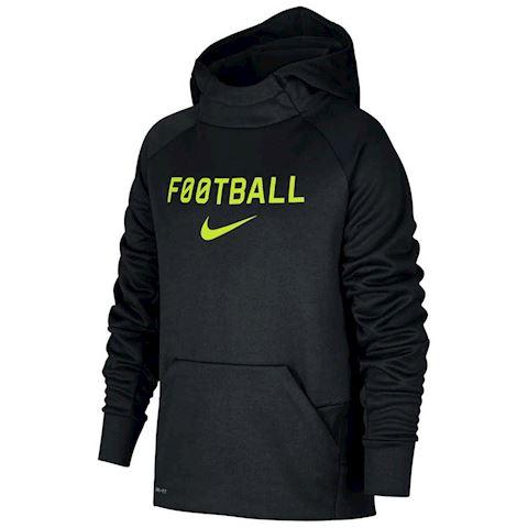 Nike Hoodie Therma - Black/Lime Green Kids Image