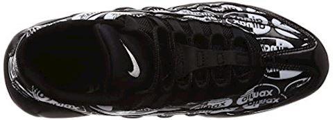 Nike Air Max 95 Premium Men's Shoe - Black Image 7