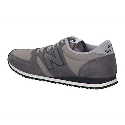 New Balance  U420  women's Shoes (Trainers) in Blue Image 3