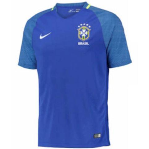 Nike Brazil Mens SS Away Shirt 2016 Image