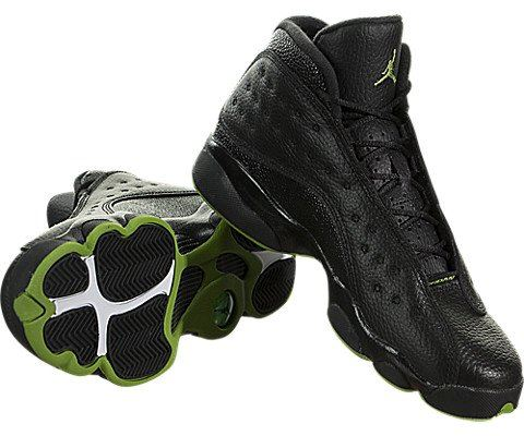 super cute 66760 1a671 Nike Air Jordan 13 Retro Older Kids  Shoe - Black Image 3