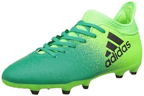 adidas X 16.3 Turbocharge Pack FG Kids Football Boots Green Image
