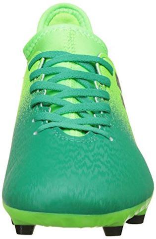 adidas X 16.3 Turbocharge Pack FG Kids Football Boots Green Image 4