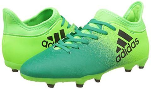 adidas X 16.3 Turbocharge Pack FG Kids Football Boots Green Image 5