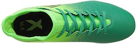adidas X 16.3 Turbocharge Pack FG Kids Football Boots Green Image 7