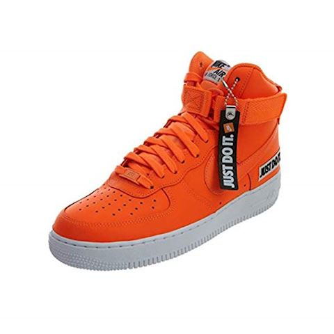 wholesale dealer 45bf8 8a980 Nike Air Force 1 High LX Leather Women s Shoe - Orange Image