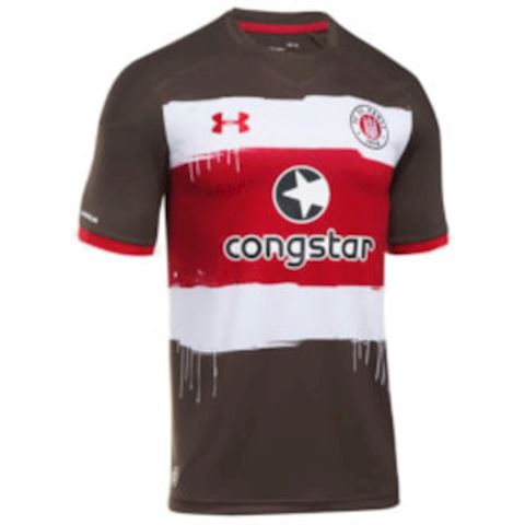 Under Armour St. Pauli Mens SS Home Shirt 2017/18 Image