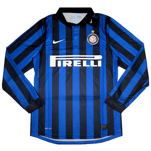 info for 00ecf 9f721 Nike Inter Milan Mens LS Player Issue Home Shirt 2011/12