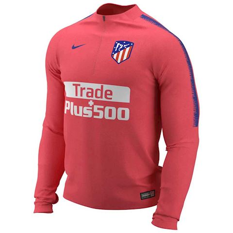 Nike Atletico de Madrid Dri-FIT Squad Drill Older Kids' Long-Sleeve Football Top - Red Image
