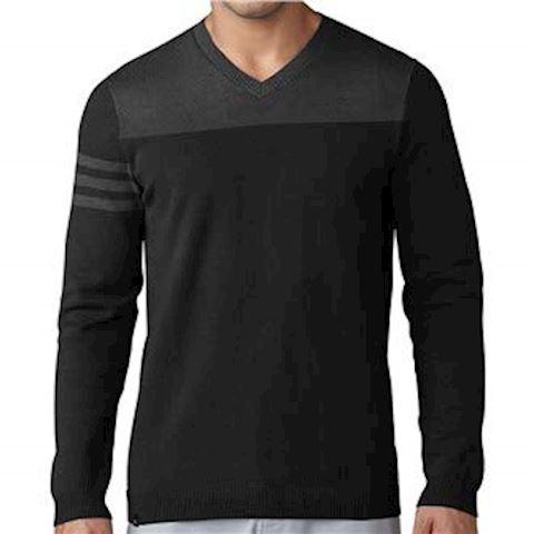adidas 3-Stripes V-neck Sweater