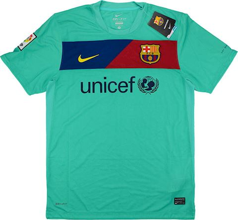 Nike Barcelona Mens SS Away Shirt 2010/11 Image