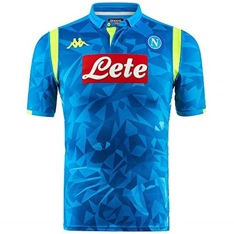 Kappa Napoli Mens SS Player Issue Home Champions League Shirt 2018/19 Image 8