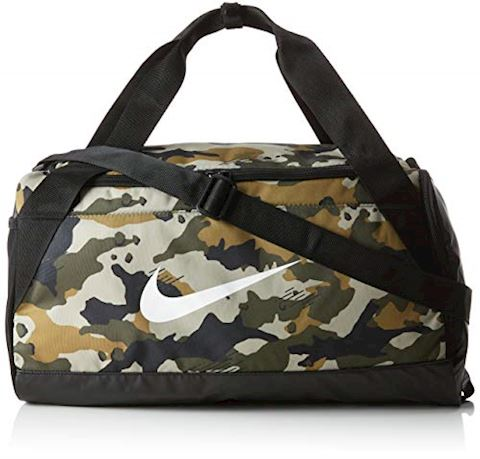 Nike Brasilia (Small) Graphic Training Duffel Bag - Olive Image