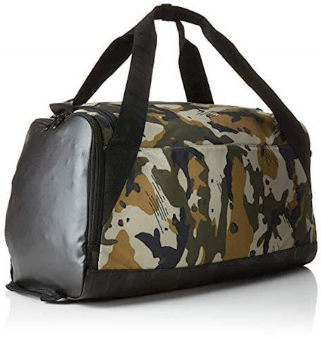 Nike Brasilia (Small) Graphic Training Duffel Bag - Olive Image 2