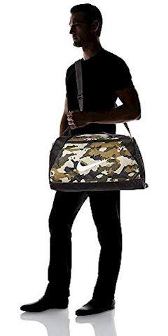 Nike Brasilia (Small) Graphic Training Duffel Bag - Olive Image 3
