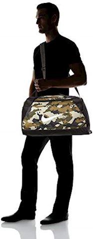 Nike Brasilia (Small) Graphic Training Duffel Bag - Olive Image 6