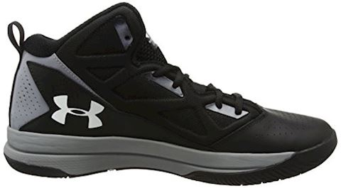 Under Armour Men's UA Jet Mid Basketball Shoes Image 6