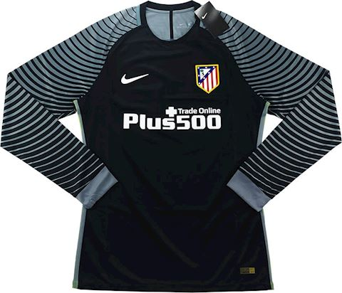 Nike Atlético Madrid Mens LS Goalkeeper Player Issue Home Shirt 2016/17 Image 2