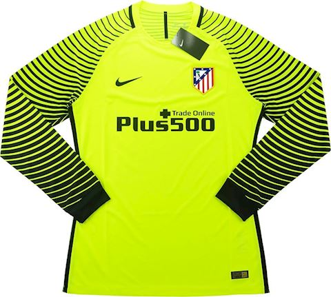 Nike Atlético Madrid Mens LS Goalkeeper Player Issue Home Shirt 2016/17 Image 3