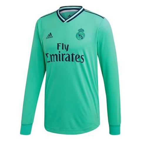 finest selection 6ea2e 92d32 adidas Real Madrid Mens LS Player Issue Third Shirt 2019/20