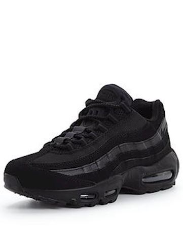 Nike Air Max 95 Woven Mens Trainers Black Image