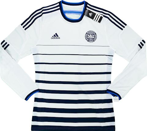 adidas Denmark Mens LS Player Issue Away Shirt 2014 Image