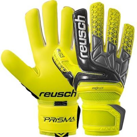 Reusch Goalkeeper Gloves Prisma Pro G3 Negative Cut - Safety Yellow/Black/Safety Yellow Image 2