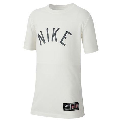 97f506ac0 Nike Sportswear Older Kids' (Boys') T-Shirt - Cream | AR5280-133 ...