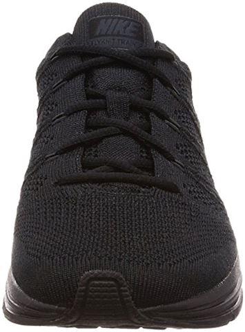 Nike Flyknit Trainer Unisex Shoe - Black Image 4