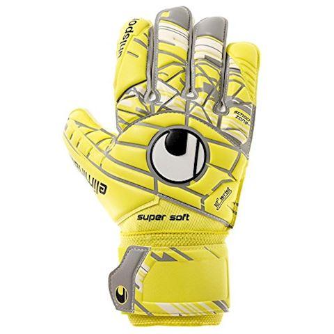 Uhlsport Goalkeeper Gloves Eliminator Supersoft - Lite Flue Yellow/Griffin Image