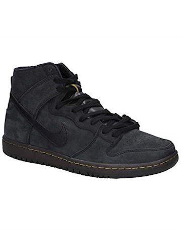 Nike SB Zoom Dunk High Pro Deconstructed Premium Men's Skate Shoe - Black Image