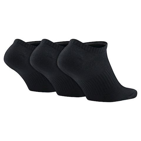 Nike Lightweight No-Show Socks (3 Pair) - Black Image 2