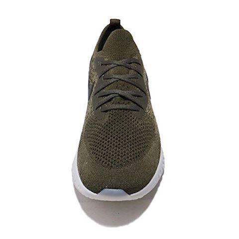 Nike Epic React Flyknit Men's Running Shoe - Khaki Image 5