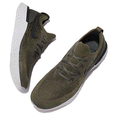 Nike Epic React Flyknit Men's Running Shoe - Khaki Image 7