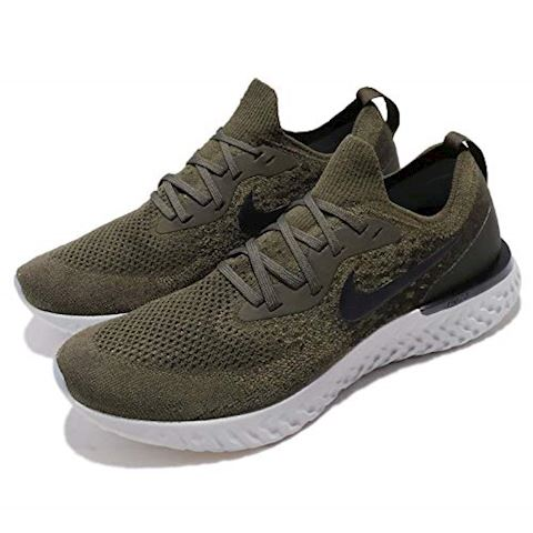 Nike Epic React Flyknit Men's Running Shoe - Khaki Image 8