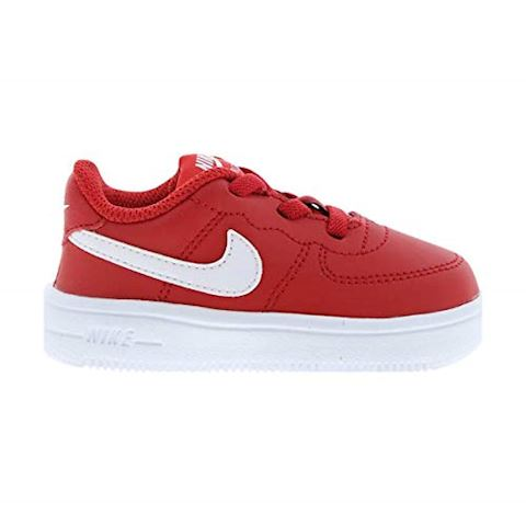 Nike Air Force 1 Toddler Shoe - Red Image