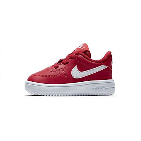 Nike Air Force 1 Toddler Shoe - Red Image 3