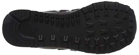 New Balance  WL574  women's Shoes (Trainers) in Black Image 3